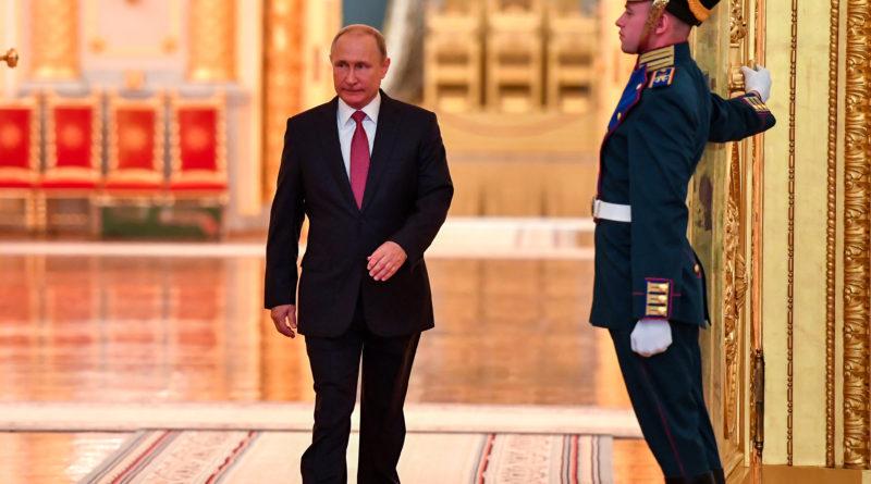 Putin: sõda Ida-Ukrainas jätkub seni, kuni praegune valitsus on võimul