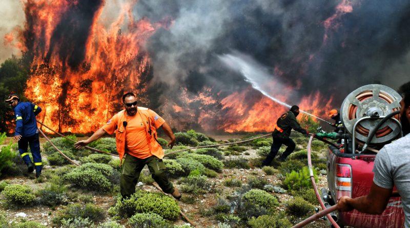 Kreeka metsatulekahjud