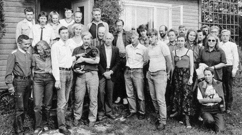 Isamaa ajalugu: ERSP idee tutvustamine Moskva korteris