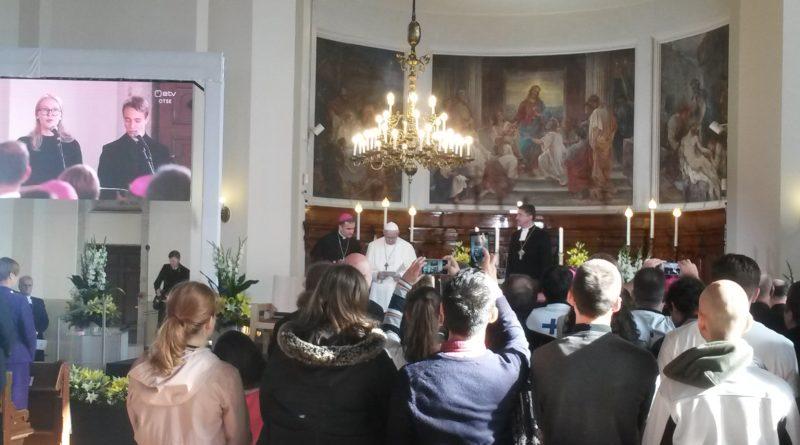 Paavst Franciscus noortele: Teie olete pigem kuvandite ja tegutsemise kui arutluse ja teooria põlvkond. Ja see just meeldib Jeesusele