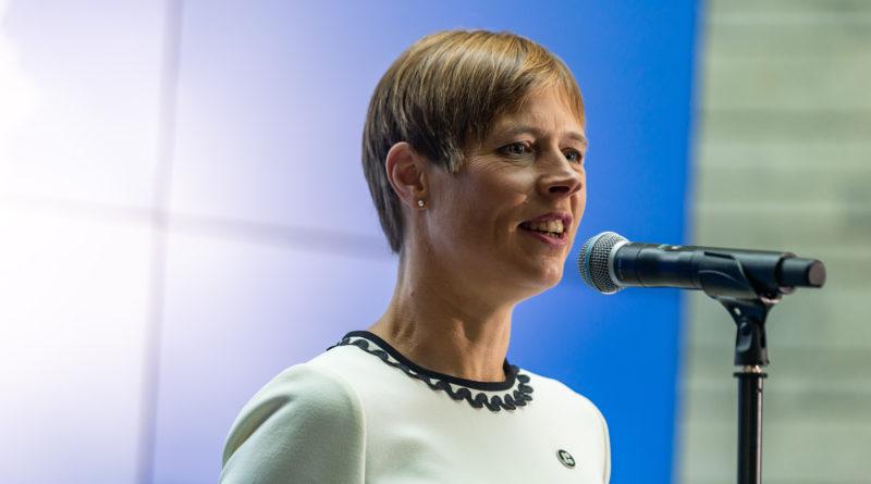 President Kersti Kaljulaid rõhutas aastavahetuse kõnes eesti keele tähtsust