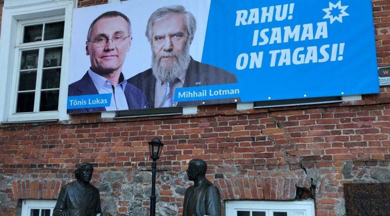 Galerii: Isamaa kandidaate võib kohata igas Eesti nurgas
