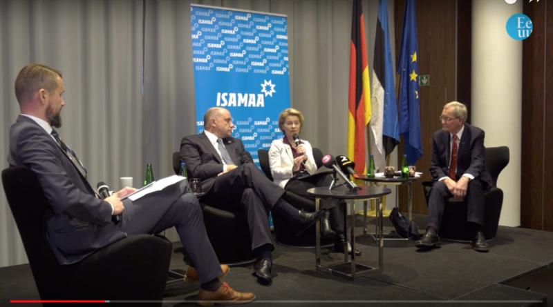 Järelvaatamine: Saksa ja Eesti kaitseministri ning Tunne Kelami arutelu Euroopa kaitsepoliitika üle
