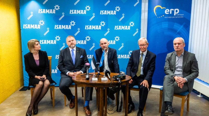Isamaa eestseisus kiitis heaks kandidaadid Euroopa Parlamendi valimisteks