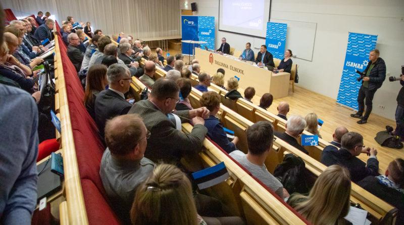 Isamaa Euroopa Parlamendi valimiste programmis on kesksel kohal Eesti rahvuslikud huvid