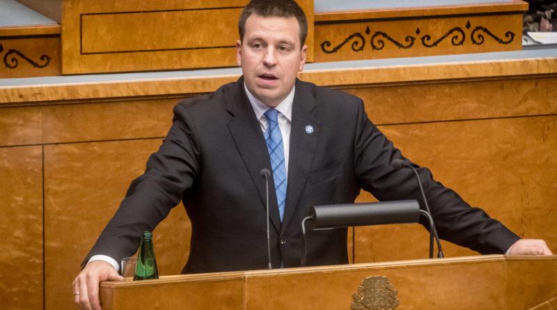 Jüri Ratas sai 55 häälega volitused valitsuse moodustamiseks, opositsioonist mõned puudusid