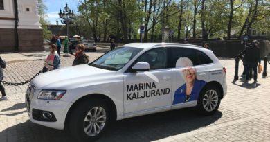 Sotside kahepalgelisus- ainult nende poliitikud võivad oma auto üle kleepida