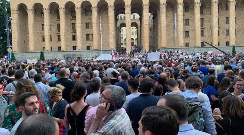 Priit Sibul Gruusia sündmuste keerises: OTSEBLOGI