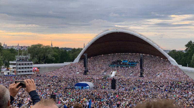 Laulupidu tõi lauluväljakule iga kümnenda eestlase