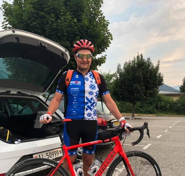 Raivo Tamm osales Tour de France'i rahvasõidul