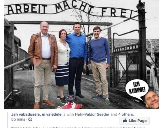 Karl Sander Kase: Hellrand, kes hüüdis natsi