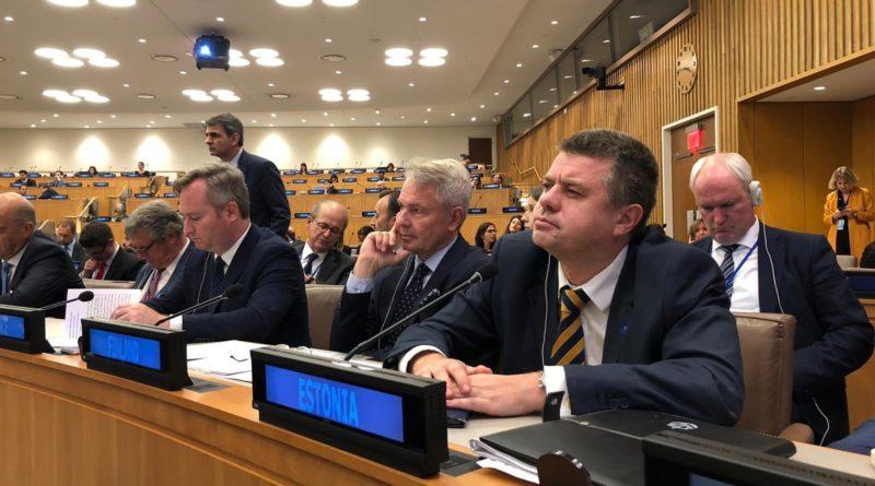 Eesti teatas ÜRO-le, et ei pea ränderaamistikku õiguslikult siduvaks