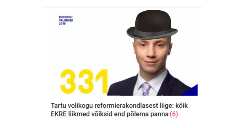 Karl Sander Kase: Noororavad EKREstuvad