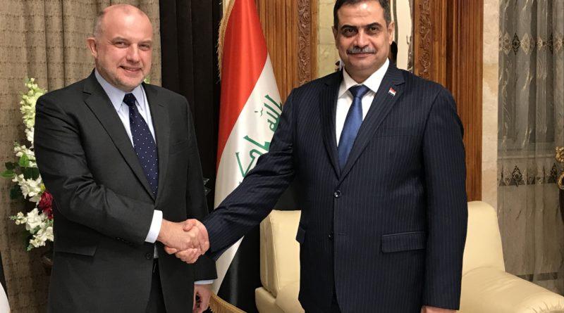 Kaitseminister alustas visiiti Iraagis