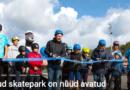Viimsis avati uuenenud skatepark