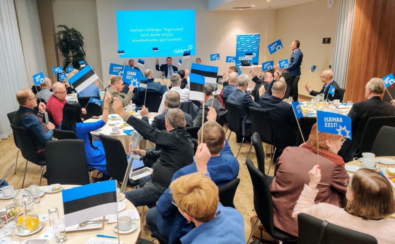 Isamaa volikogu avaldus: tegevused eesti keele elujõu arendamiseks igal tasandil