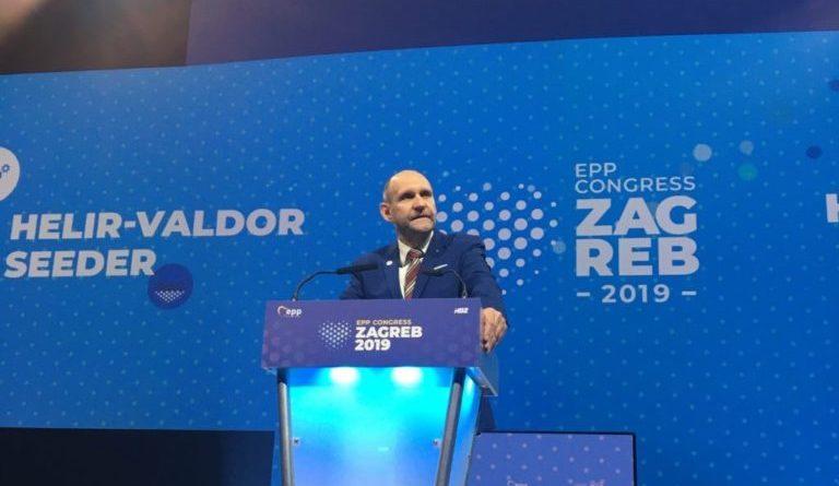 Seeder Zagrebis: peame kindlaks jääma oma põhiväärtustele ja poliitilistele eesmärkidele
