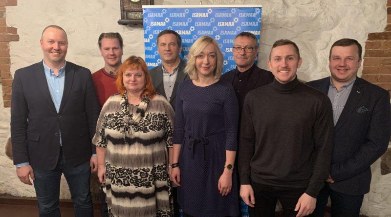 Isamaa Viljandimaa üldkogul valiti uued piirkonna juhid