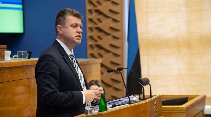 Välisminister Urmas Reinsalu: Eesti välispoliitika prioriteet on julgeolek