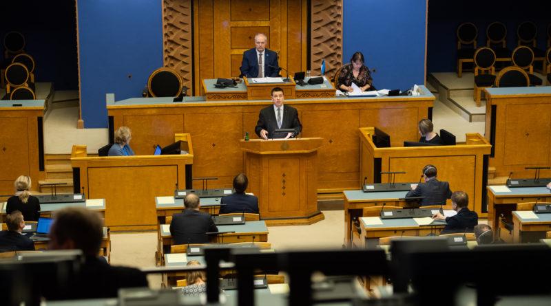 Valitsus andis Riigikogule üle lisaeelarve eelnõu