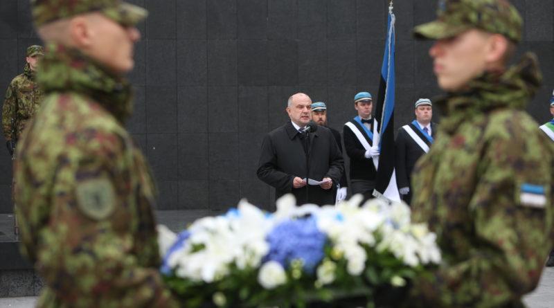 Kaitseminister Luik mälestas vapraid vastupanuvõitlejaid