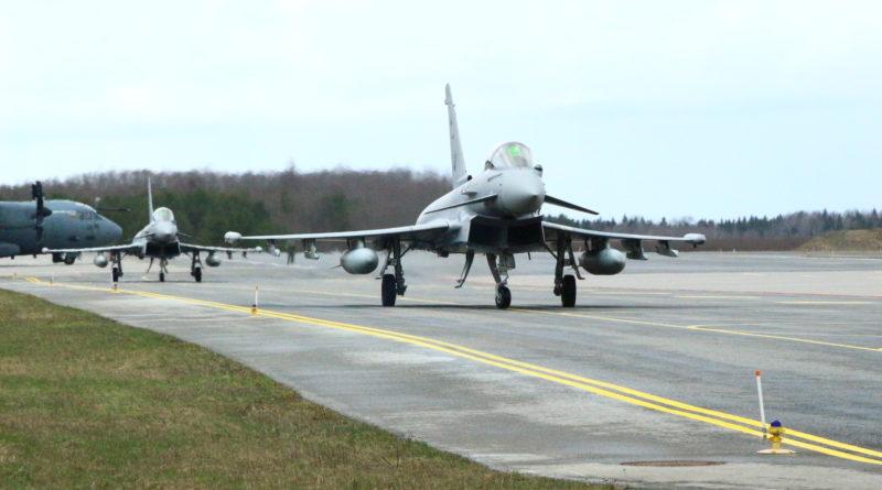 Balti riikide õhuruumi valvavad järgmised kaheksa  kuud Saksamaa õhuväelased