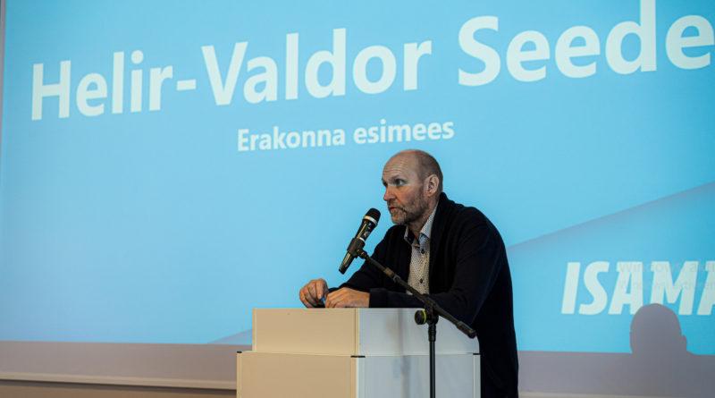 Helir-Valdor Seeder: sihikindel rahvuslik-konservatiivne poliitika lähtub Eesti pikaajalistest huvidest