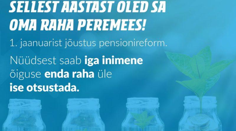 Eesti Päevaleht: pensionireform on Reagani või Thatcheri jutlustatud õhukese riigi musternäidis