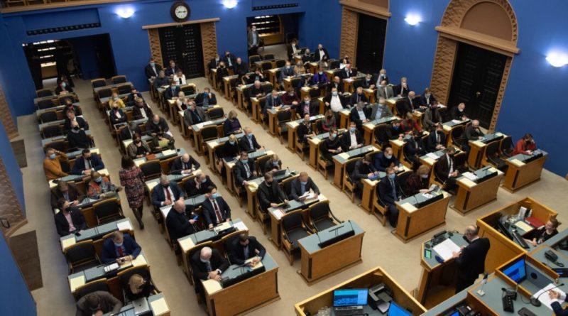 Riigikogus toimub olulise tähtsusega riiklik arutelu energiajulgeoleku ja varustuskindluse teemal