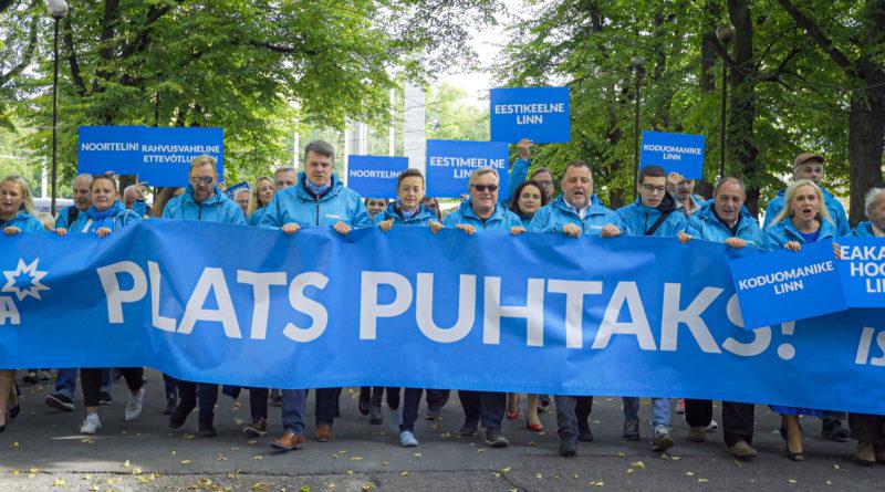 Isamaa avalikustas Tallinna valimisprogrammi