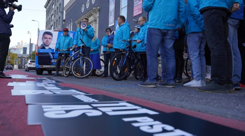 FOTOD: Isamaa avas Tallinnas korruptsioonikilomeetri