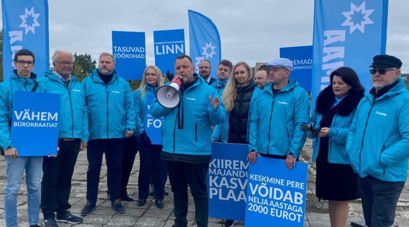 Isamaa avalikustas majandusnõukogu liikmed ja majandusplaani Tallinnas