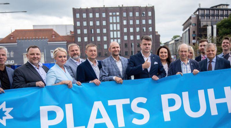 Isamaa alustab Tallinnas 100 tunni pikkust meeleavaldust